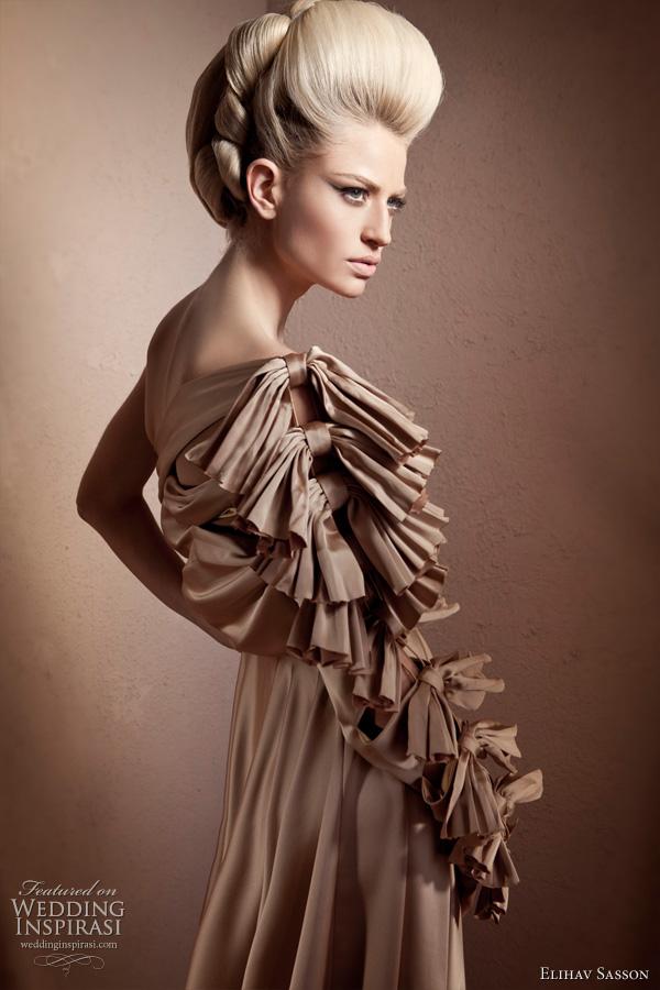Elihav sasson 2011 bridal collection wedding inspirasi for Haute couture details