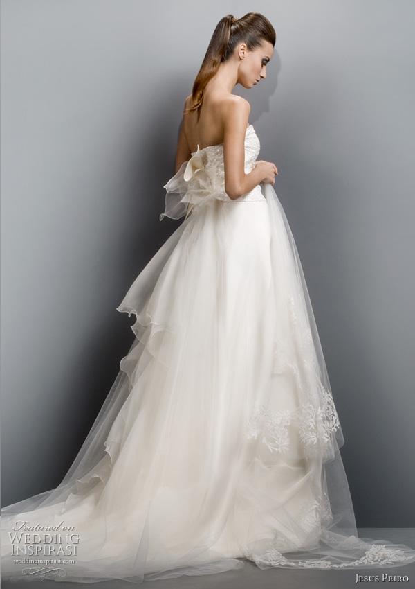 jesus peiro 2011 ball gown wedding dress