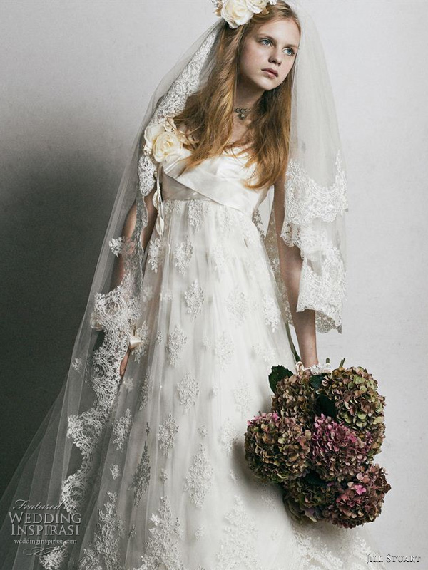 Jill Stuart 2011 wedding dress