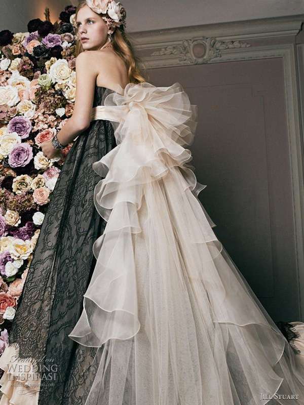 Jill Stuart bridal 2011 collection - romantic wedding dresses