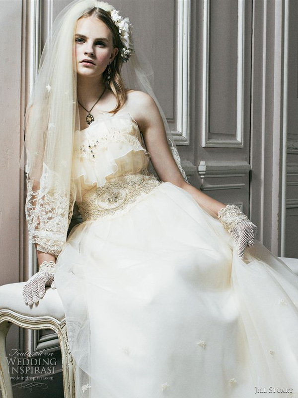 Jill Stuart Bridal 2011 wedding dress collection wedding