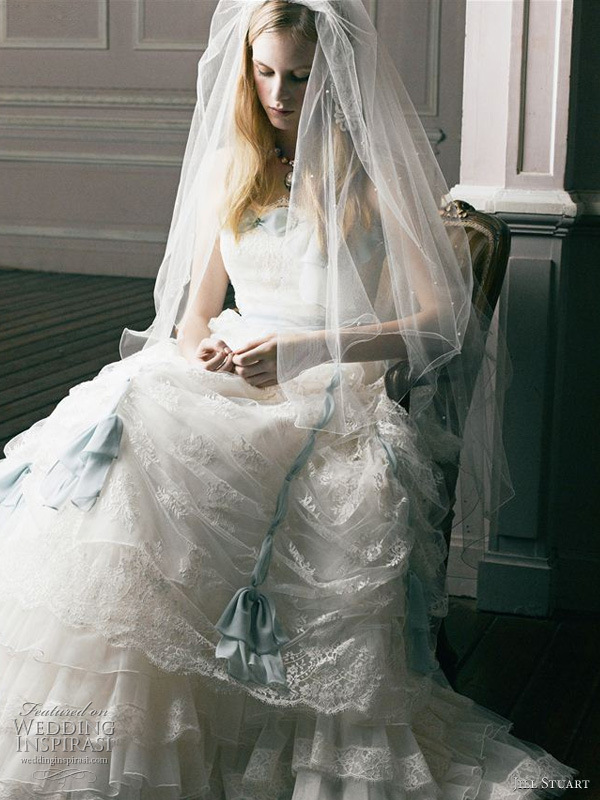 Jill Stuart wedding dress, 2011 bridal collection