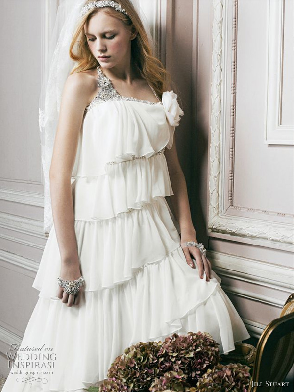 Jill Stuart wedding gown 2011 bridal collection