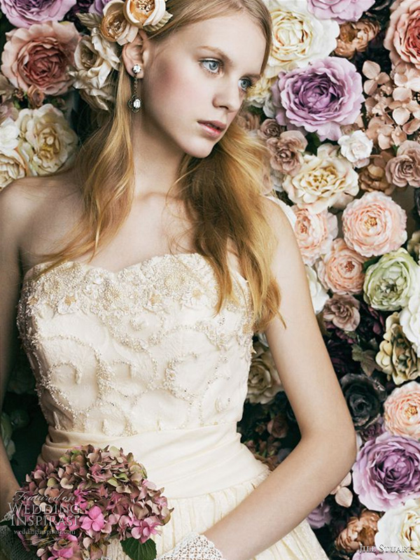 Jill Stuart Bridal - romantic wedding dress