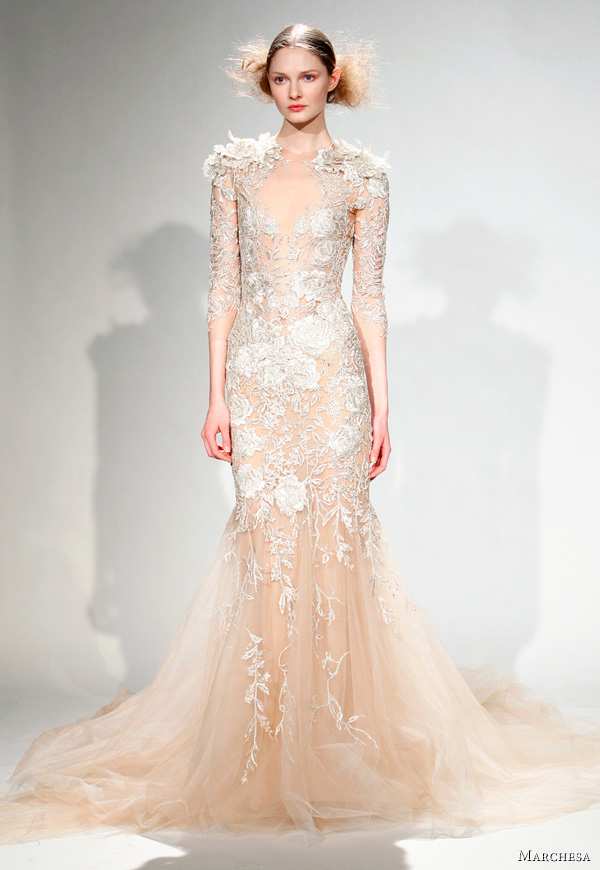 Marchesa Fall Winter 2011 Dresses