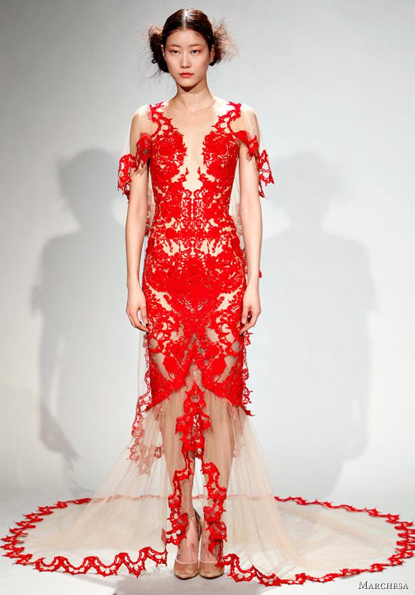 Marchesa Fall/Winter 2011 Dresses | Wedding Inspirasi