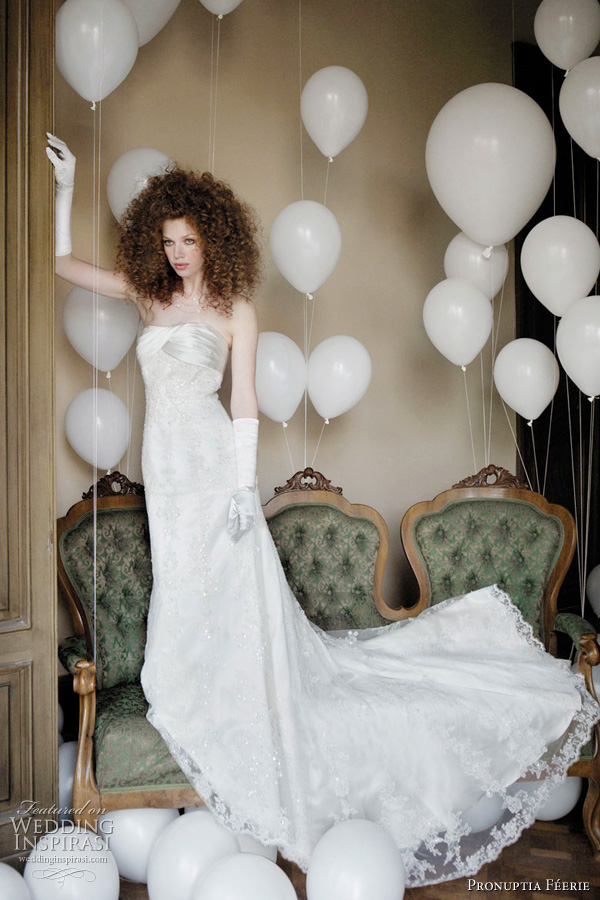 Pronuptia wedding dresses 2011 collection Charmante f rie bridal gown