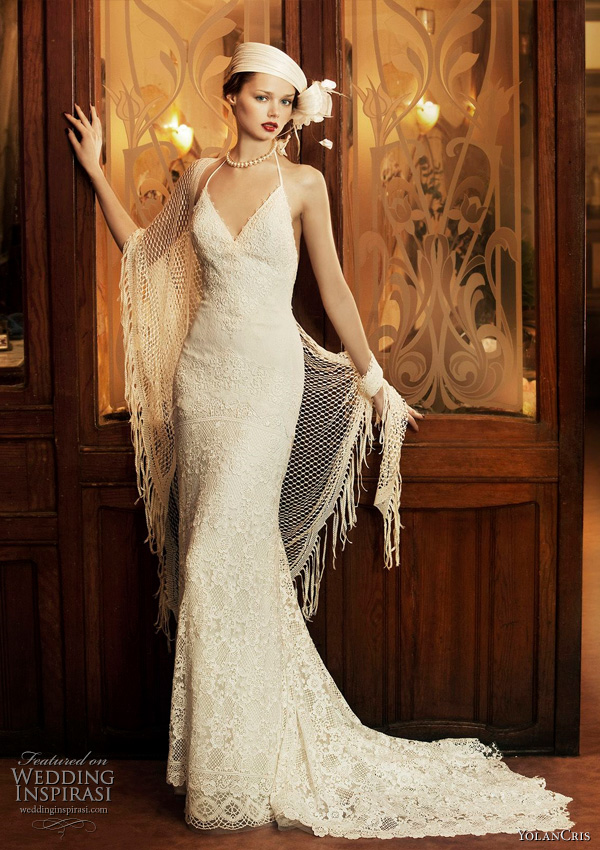 Milan Wedding Dress YolanCris 2011 Revival Vintage Bridal Collection
