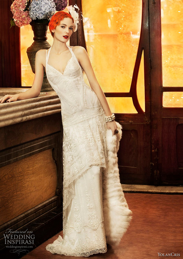 Exquisite vintage revival wedding dresses forevermore for Vintage 20s wedding dresses