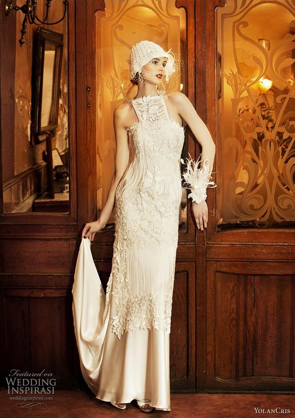 YolanCris wedding dresses 2011 - Praga bridal gown