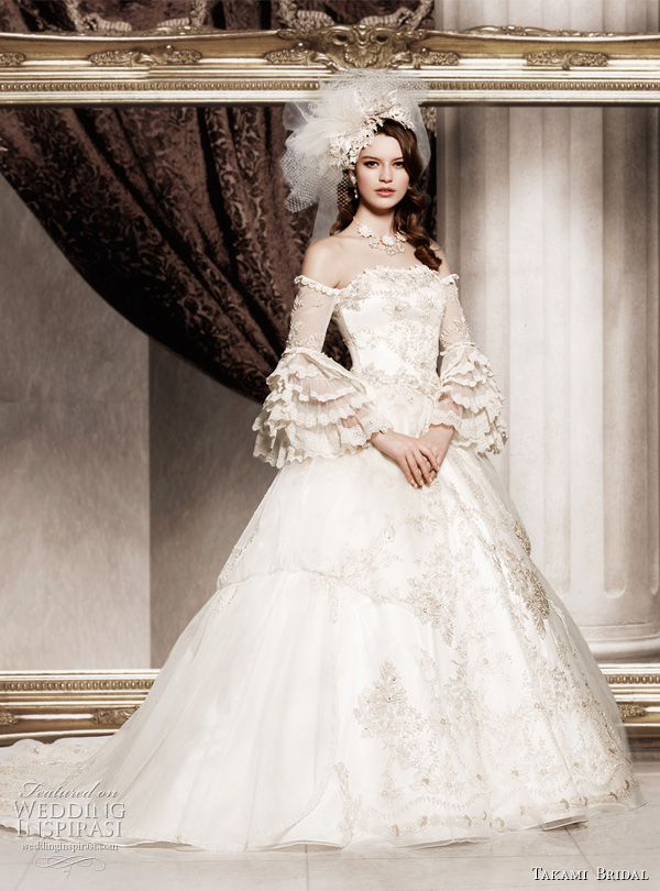 Royal Wedding Dresses By Takami Bridal Inspirasi