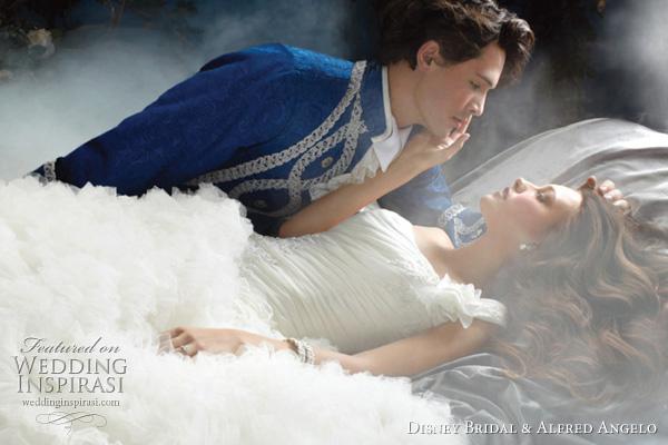 Alfred Angelo Disney Princess Sleeping Beauty wedding dress