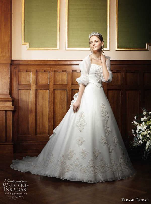 Royal Wedding Dresses by Takami Bridal | Wedding Inspirasi