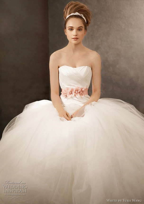 White by Vera Wang 2011 collection wedding dresses Simply breathtaking