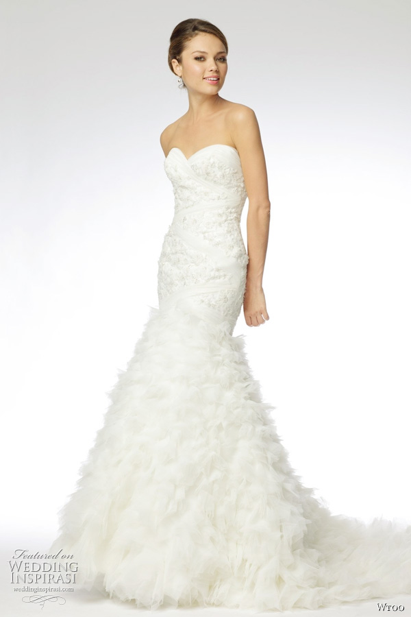 wtoo wedding gown fall 2011 bridal collection