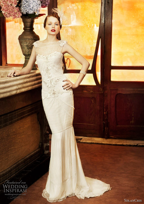 Yolan Cris 2011 wedding dresses from Revival Vintage bridal collection - Copenhague gown