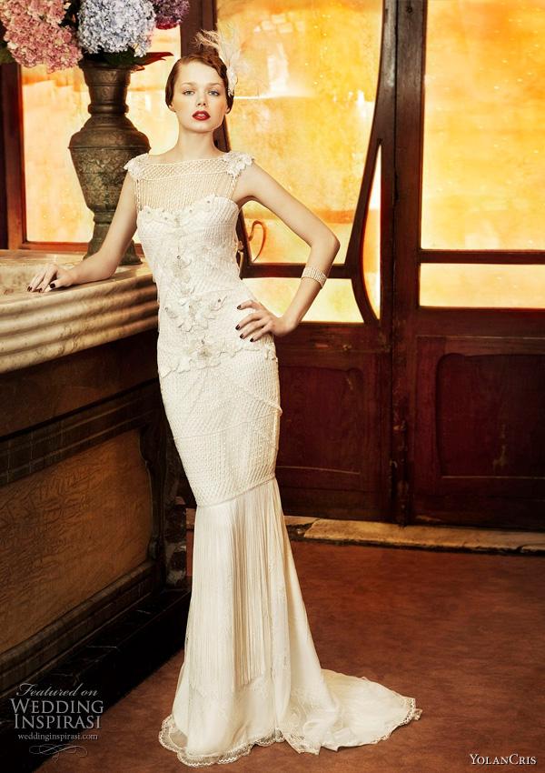 Yolan Cris 2011 wedding dresses from Revival Vintage bridal collection - Copenhague gown