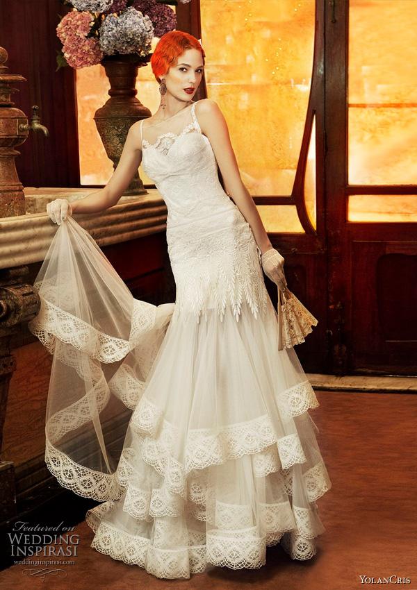 Yolan Cris 2011 Revival Vintage bridal collection - Monaco wedding dress