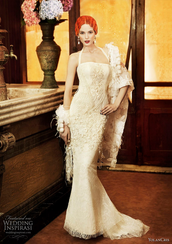 YolanCris wedding dress 2011 Revival Vintage bridal collection - Cadiz