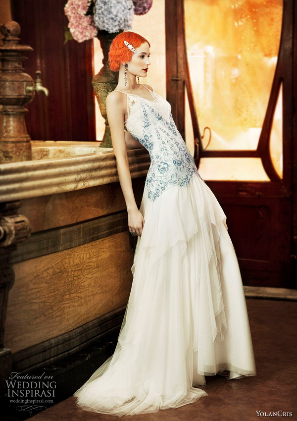 Yolan Cris wedding dresses from 2011 Revival Vintage bridal collection