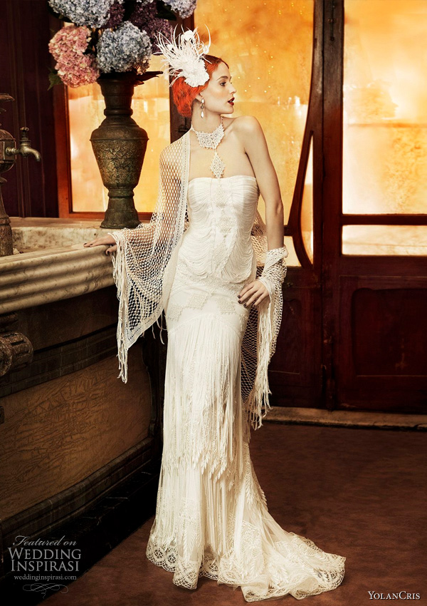 Yolan Cris wedding dresses 2011 Revival Vintage bridal collection - Roma