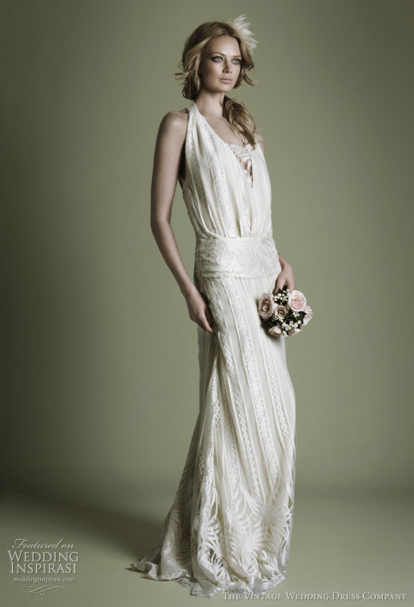 the vintage wedding dress company decades lace bridal With 1920 style wedding dresses