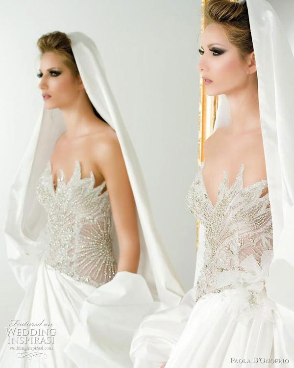 abito da sposa paola donofrio