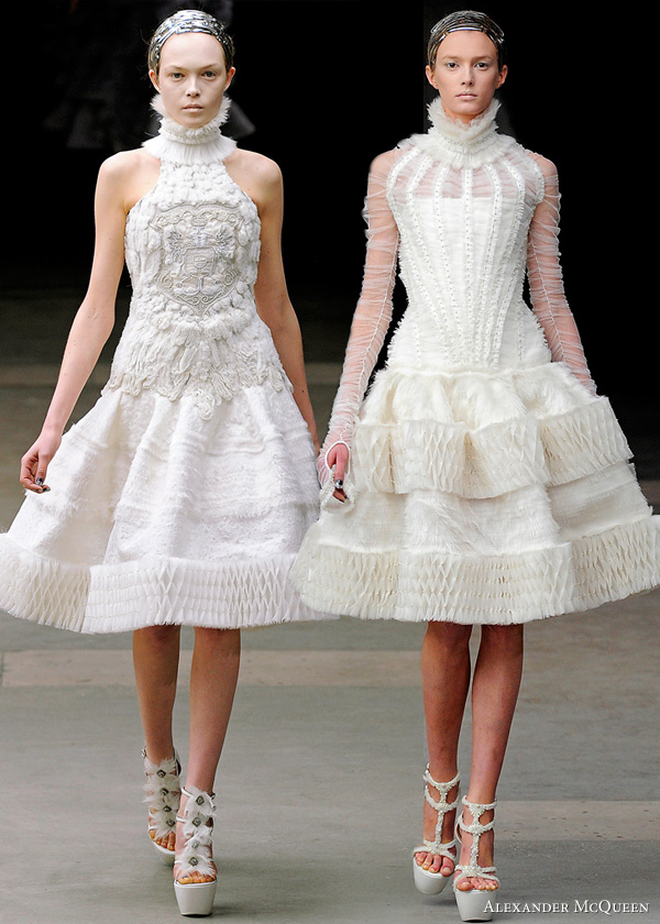 alexander mcqueen fall 2011 collection