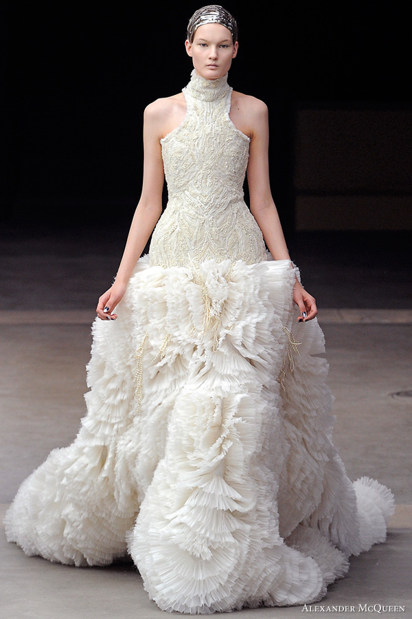 alexander mcqueen fall winter 2011 collection wedding
