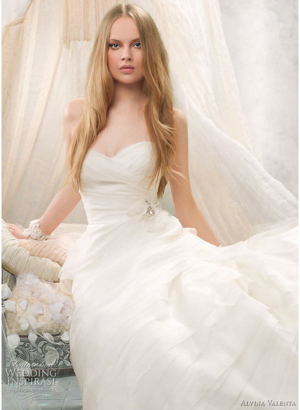 alvina valenta wedding dress 2011