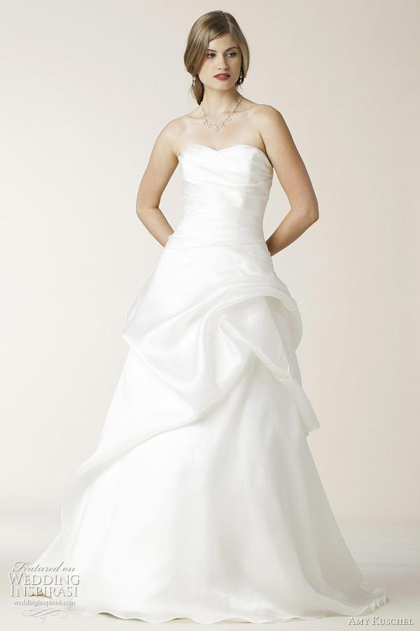 Silk Charmeuse Wedding Dress 67 Cool amy kuschel belden wedding