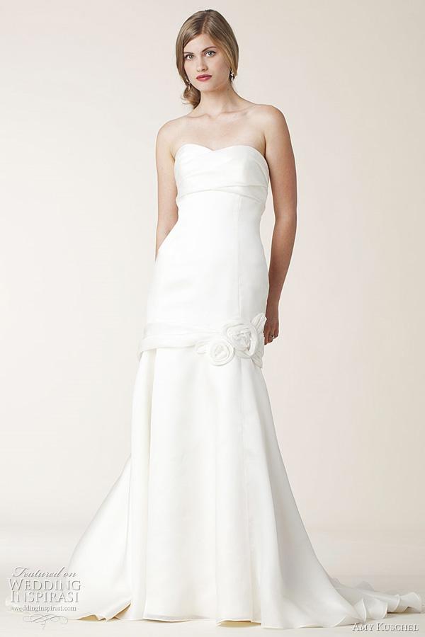 Silk Charmeuse Wedding Dress 19 Lovely amy kuschel lucky wedding