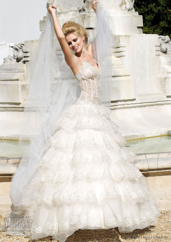 angel wedding dress