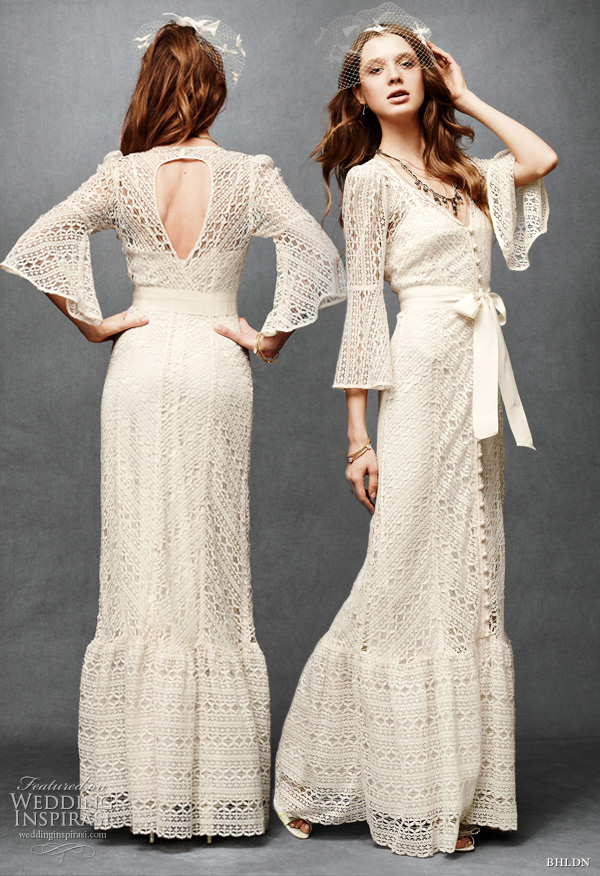 anthropologie wedding line bhldn