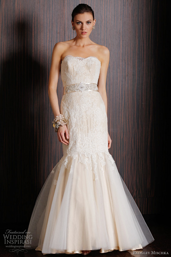 badgley mischka bridal spring 2011 - kildare wedding dress