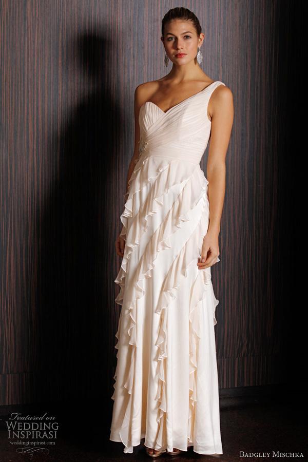 Badgley mischka bridal spring 2011 collection wedding for Wedding dresses eugene oregon