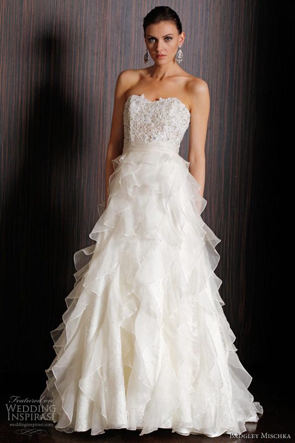 Badgley Mischka Bridal Spring 2011 Collection Wedding