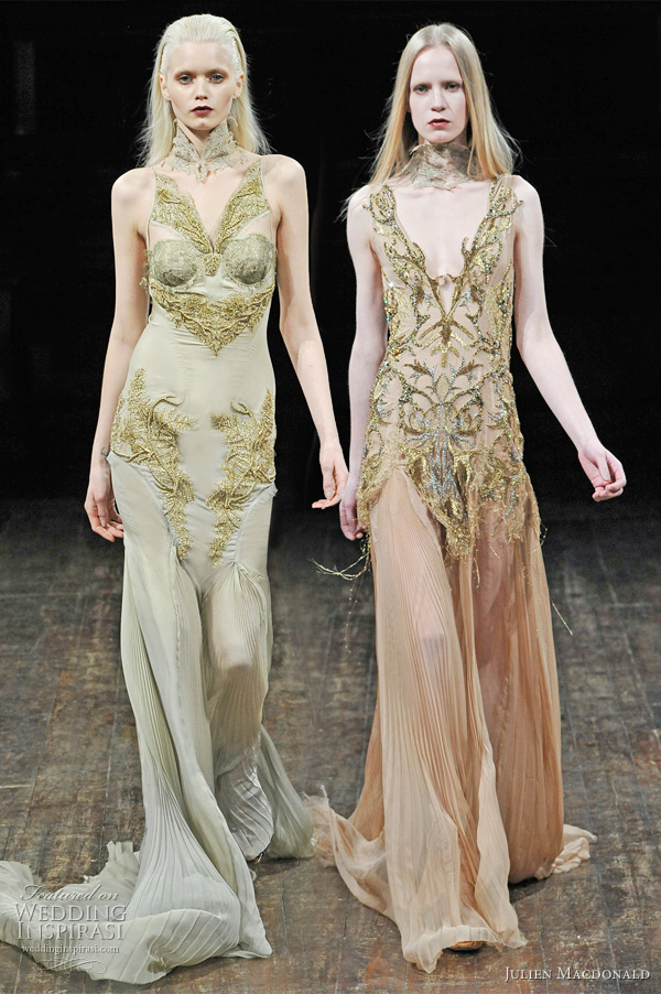 Julien Macdonald Fall 2011 Amp Spring 2011 Collections