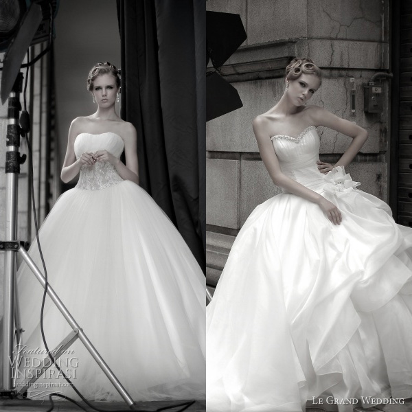 Beautiful Ball Gown Wedding Dresses: Le Grand Wedding Dresses