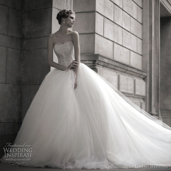 le grand wedding dress ball gown 2011 bridal collection