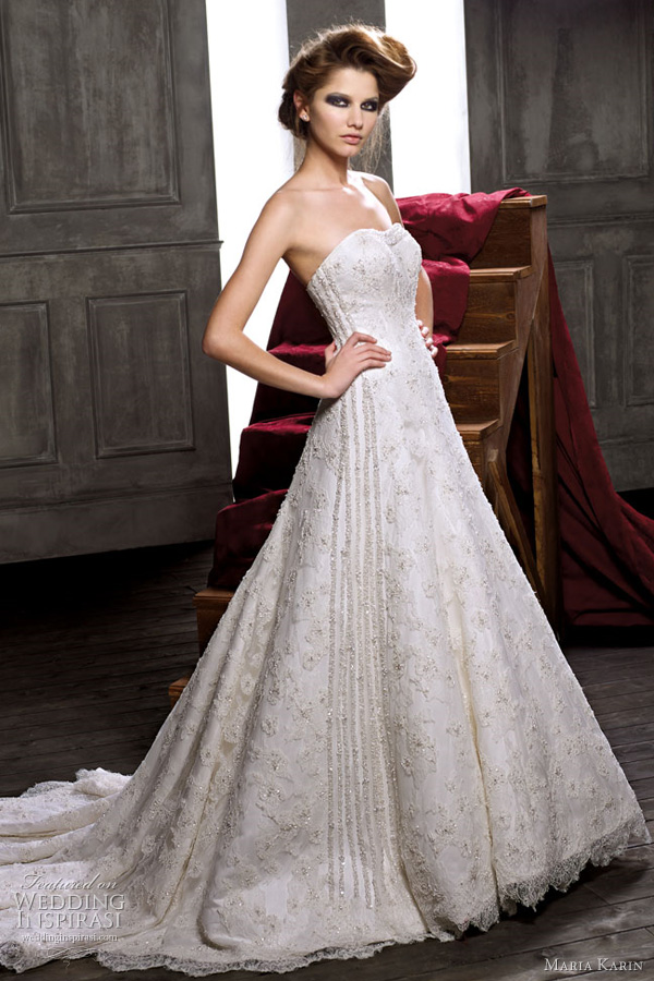 maria karin 2011 wedding dresses