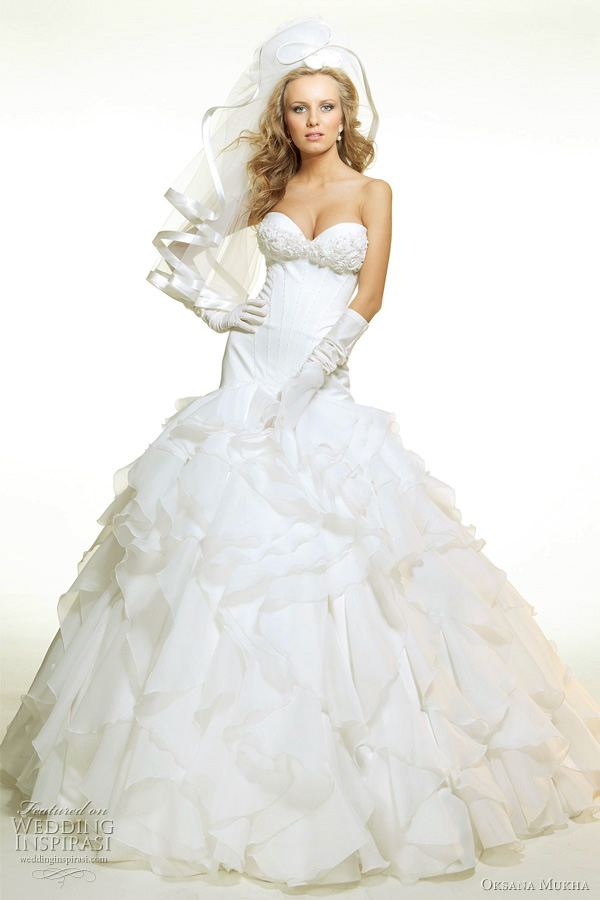 oksana mukha wedding dressess 2011 wedding inspirasi With oksana mukha wedding dresses