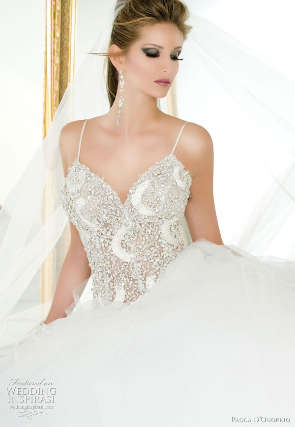 paola donofrio wedding dress 2011