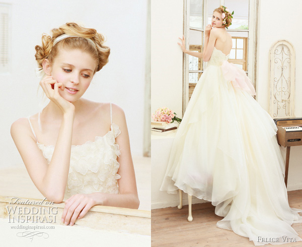 romantic wedding dress 2011