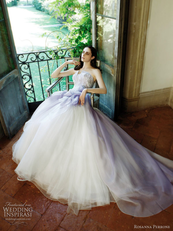 rosanna perrone 2011 wedding dress Ortensia