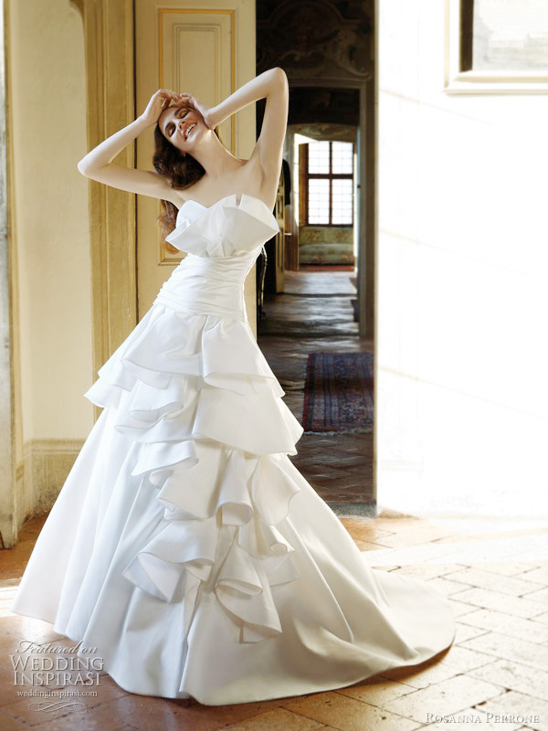 rosanna perrone 2011 wedding dresses - ibiscus