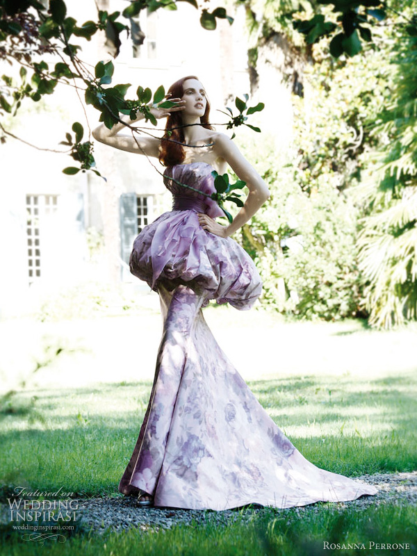 rosanna perrone wedding dress 2011 - lilium