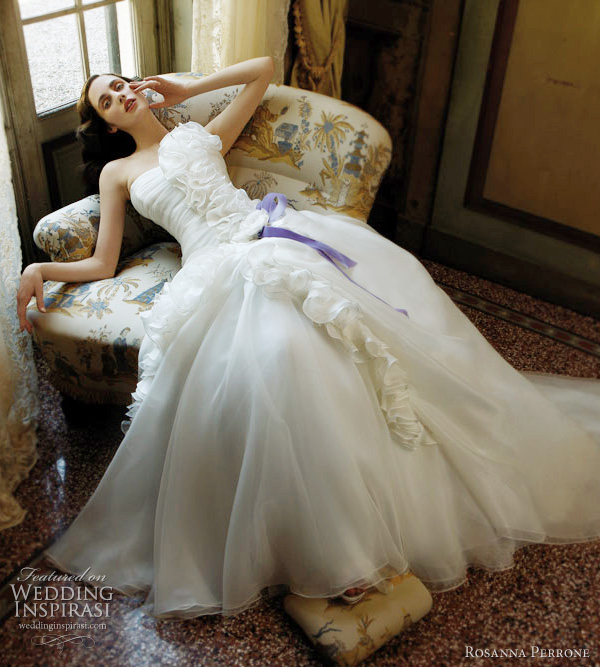 rosanna perrone wedding dress Violetta