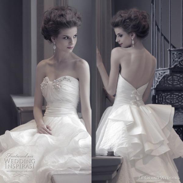 singapore wedding dress 2011 - Le Grand Wedding