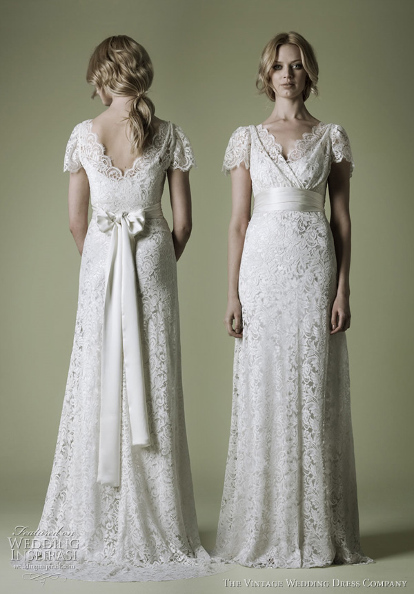 1930s wedding dresses